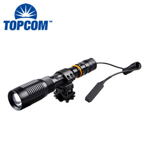 New military XML-T6 LED hunting lamp flashlight rifle gun mount torch