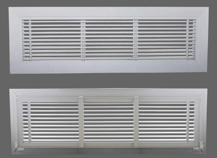 Hvac System Aluminum No Hood Vent Supply Air Register