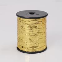 Gold color M type metallic thread metallic yarn