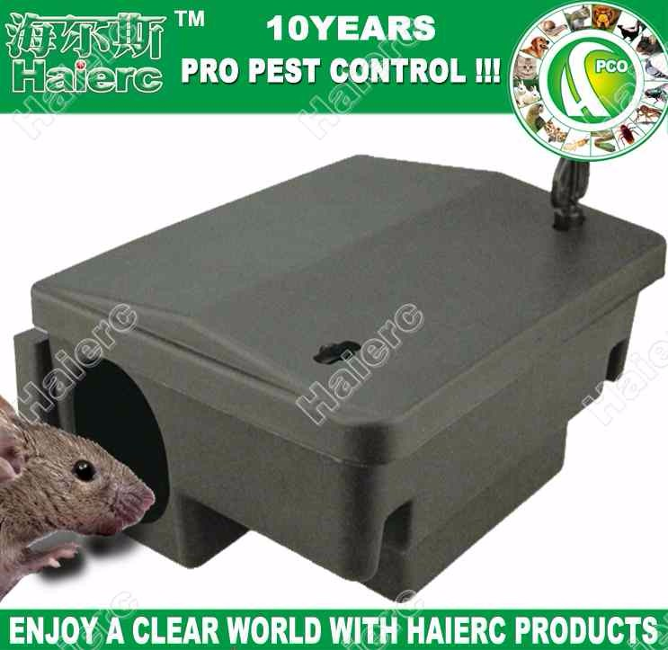 Haierc High Quality Plastic Mouse Bait Station HC2101
