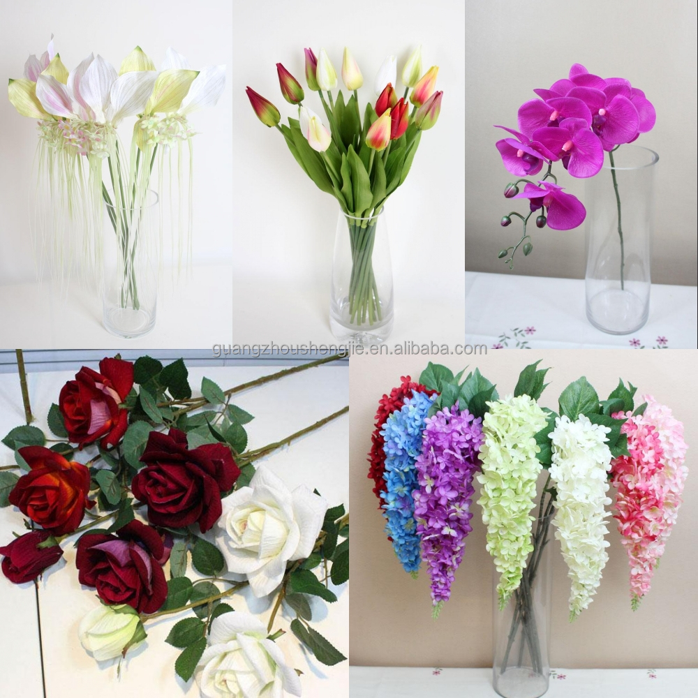 Plastic Artificial Flowers Wedding Ideas