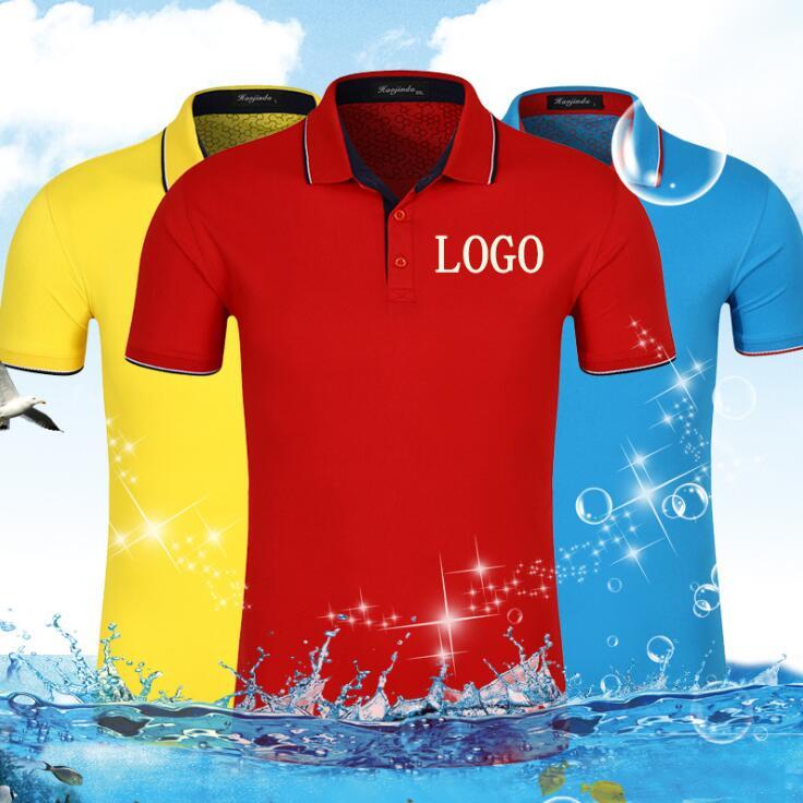 be9e2a7a8 2018 Wholesale custom Polo Shirt Embroidered Logo Clothing Custom Team polo  T-shirt polo shirts