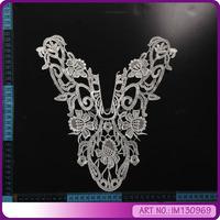 fancy poly neckline collar design IM130969