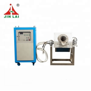 JINLAI Best Selling Mini Factory Price MF 5KG Induction Melting Furnace for Steel and Iron (JLZ-25)