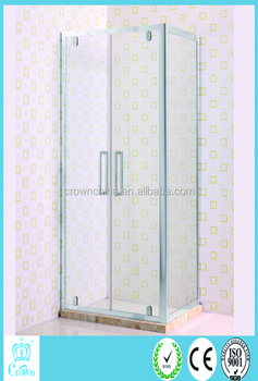 crown bathroom corner rectangular shower stalls china shower room 6mm clear small shower enclosures