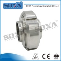 Sanitary male and female 2 inch stainless steel union pipe fitting