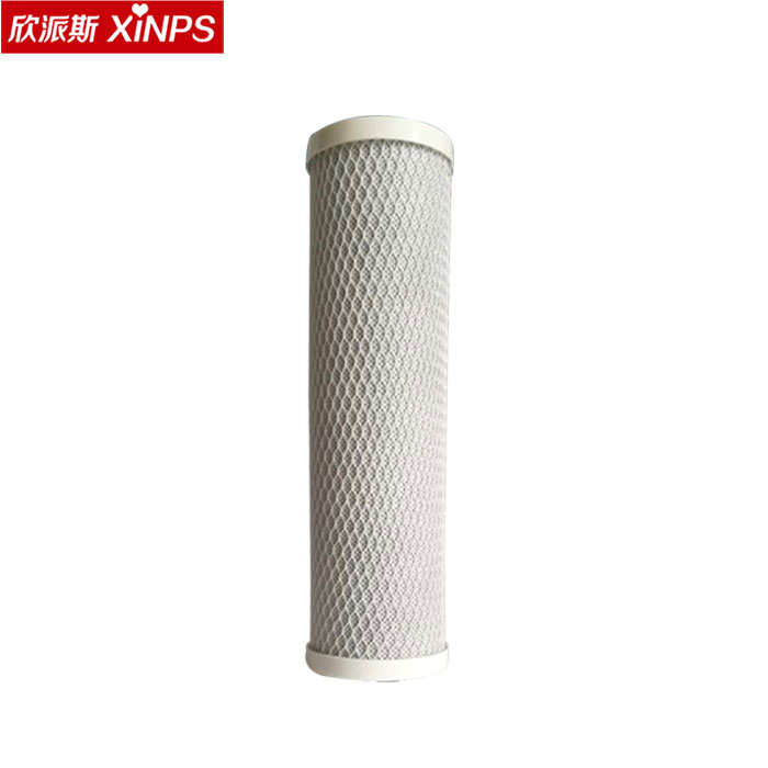 CTO carbon block water filter cartridge for water treatment