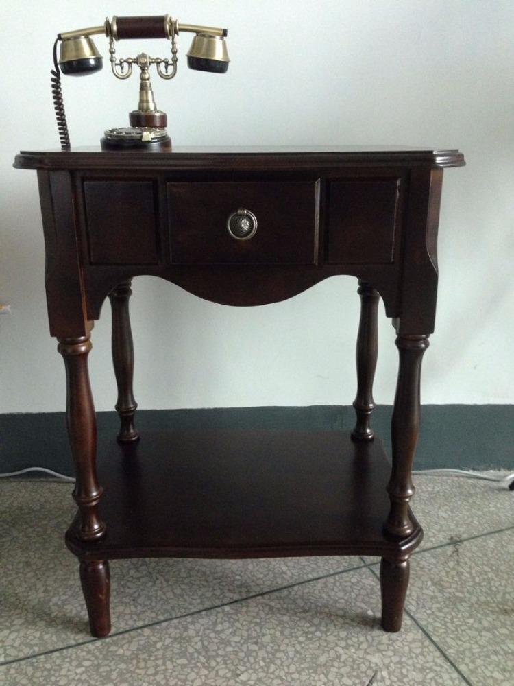 China antique landline brown desk retro wall mounted telephones