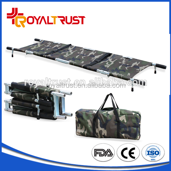RC-F6 Wholesale price military combat four folding stretcher