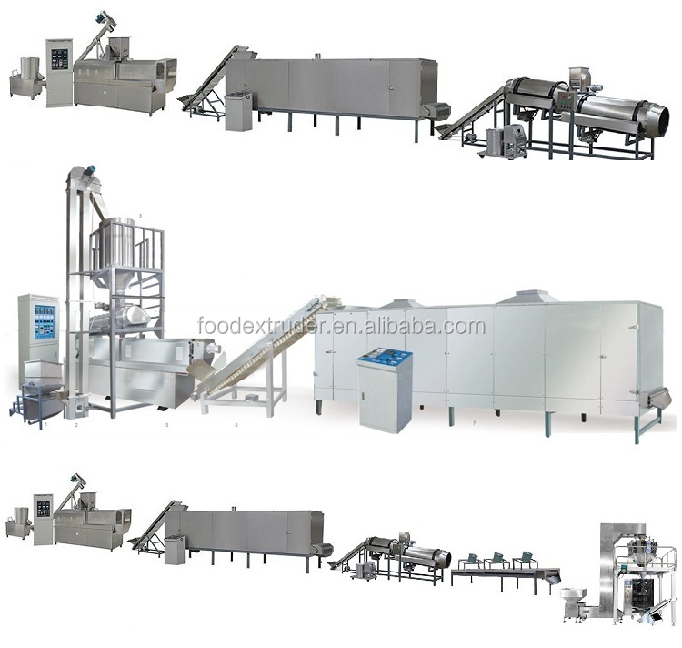 Puffed Maiz Argentina Snacks Making Machines Henan the Production Line