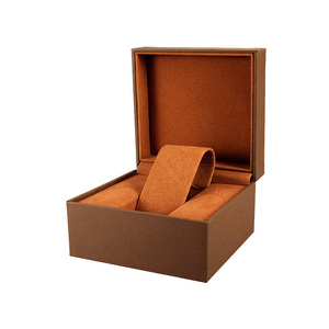 Factory produce Leather display watch gift box for customize