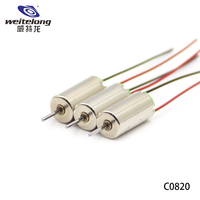 dc 12v 3.7v 7.4v brush 8mm 20mm 0820 cl-0820 high rpm efficiency dc coreless motor