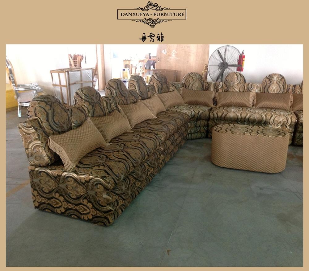Arabic Couch Middle East Sofa Moroco Luxury U Shape Cornor