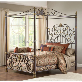 Modern wrought iron canopy beds & Modern Wrought Iron Canopy Beds