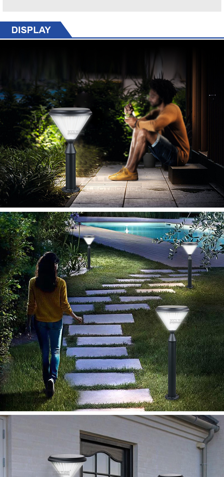 high end solar landscape lights-9