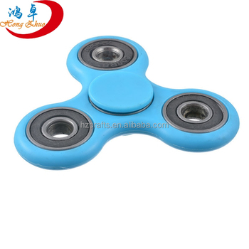 2017 Most popular tri-spinner fidget toy hand spinner lasting rotate action figures relieve stress
