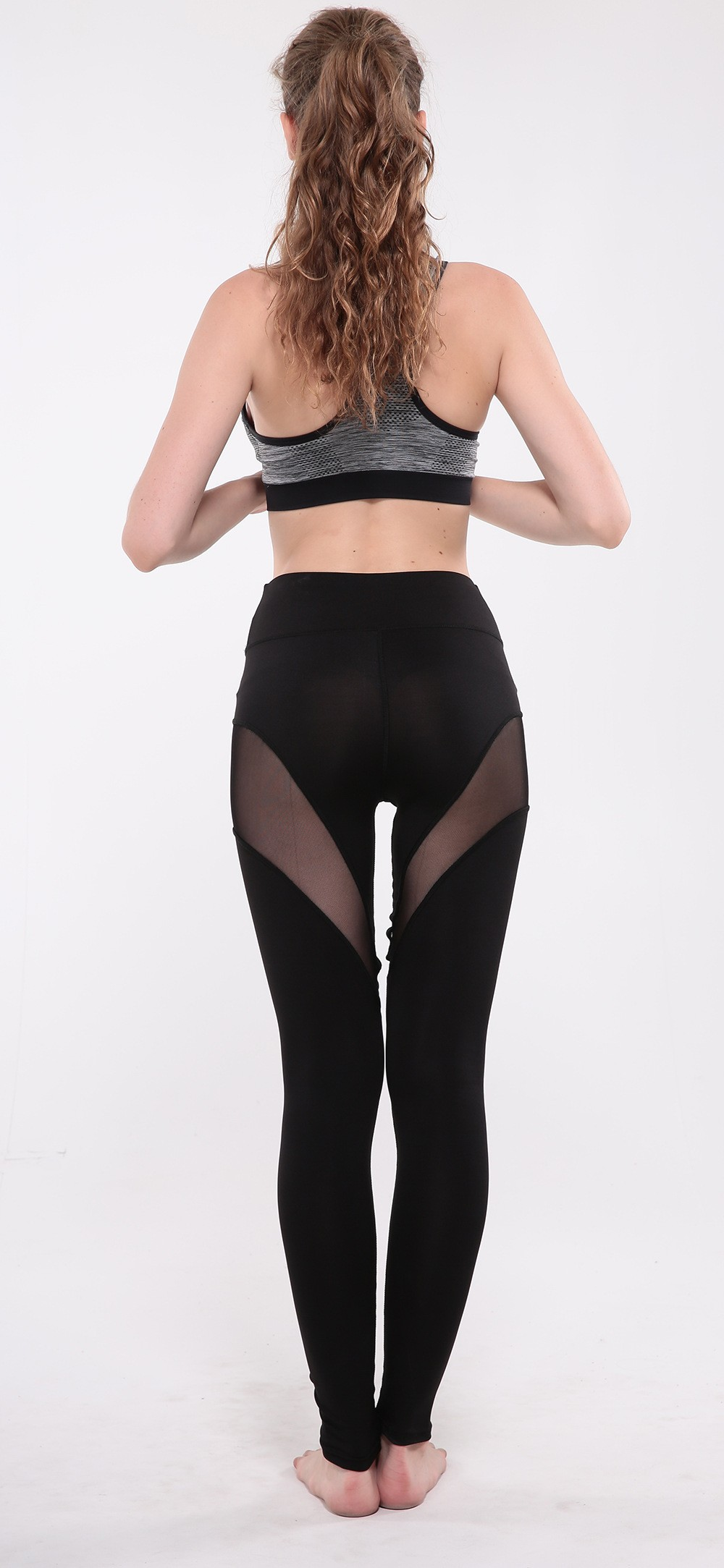 Hot Sale hollow out Yoga Leggings, Women Sexy Workout Pants,Gym Sports Fitness yoga Tights Leggings