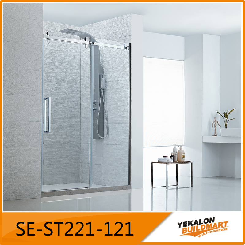 Straight Line Shape Shower Enclosure Sliding Door Sanitary Ware ...