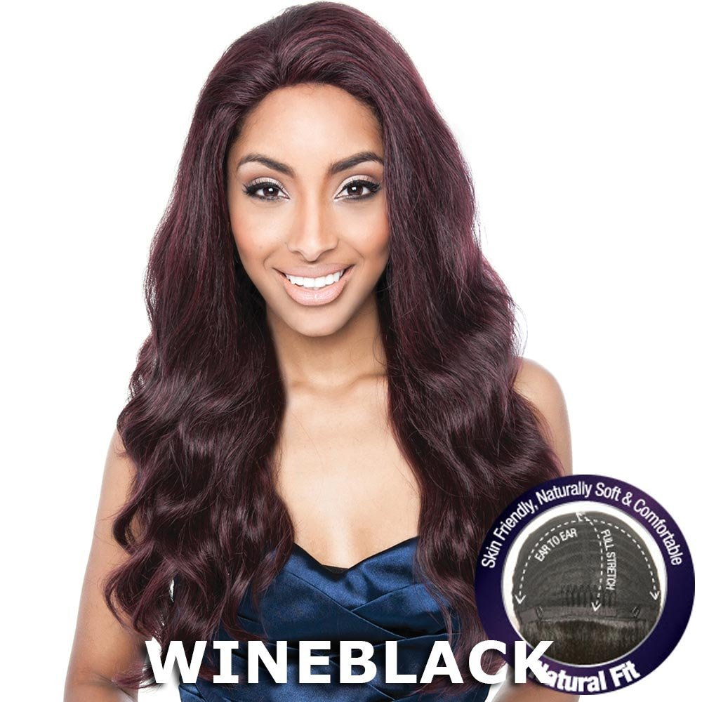 Isis Human Hair Blend Flexible French Stretch Cap Lace Wig - BS704 STELLA (613 Champaign Blonde)
