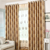New design simple pattern printed fancy window curtains