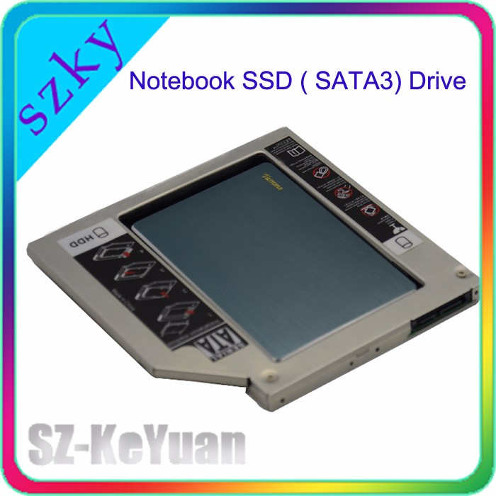 Fast DATA Transport Notebook 2nd Drive 60GB SSD with 2nd HDD Caddy