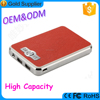 High capacity top quality polymer lithium battery Rohs 12000mAh portable power bank for iphone 6