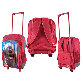 db72931d4 Custom Cabin Bag Suitcase Wheels Lightweight Children Character Trolley  Backpack