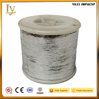 M type pure silver embroidery metallic yarn Chinese manufacturer supply to Morocco