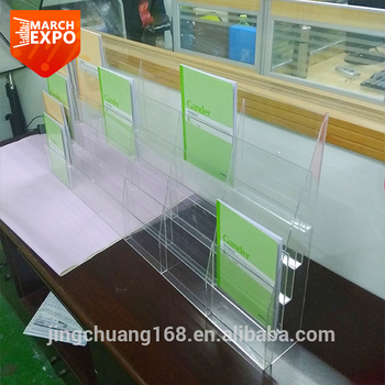 wall mounted office. 30 pocket wall mounted office file rack clear a5 acrylic brochure holder