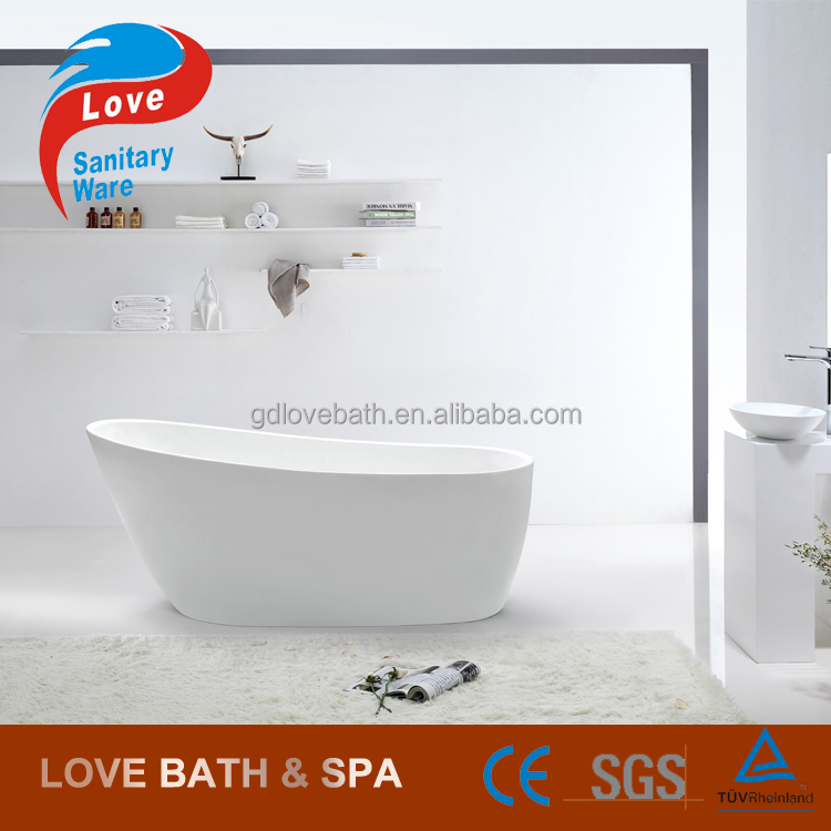1300*700*700mm new freestanding seamless modern acrylic bathtub soaking tub
