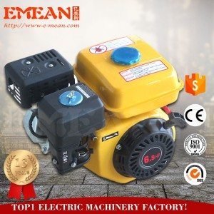 Factory price 6 5hp 4 1kw loncin engine for 4 stroke single cylinder  gasoline engine