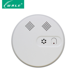 Wireless photoelectric smoke sensor transducer detector wireless home fire alarm system
