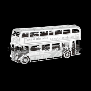 3D Educational Metal Puzzle London Bus model puzzle