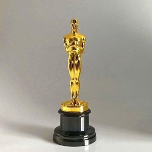 Oscar Statue Metal Figurines metal oscar trophy awards Prize In Metal Oscar Craft