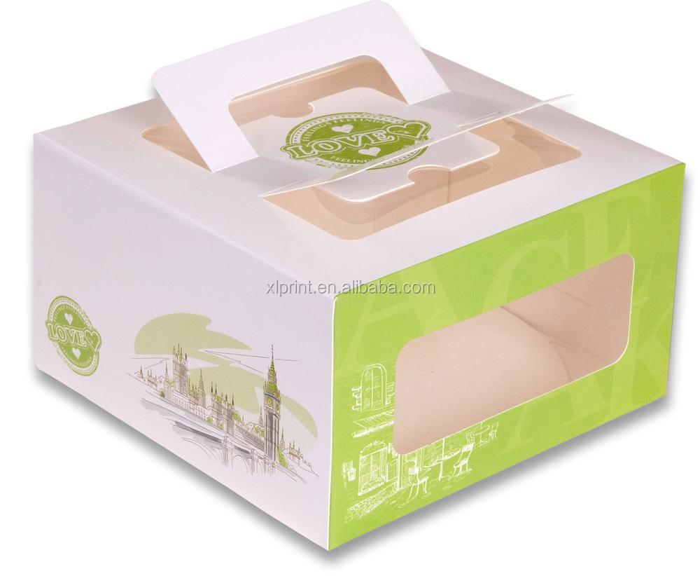 Kraft Wedding Cake Boxes