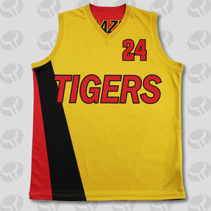 New design custom reversible basketball jersey sublimated