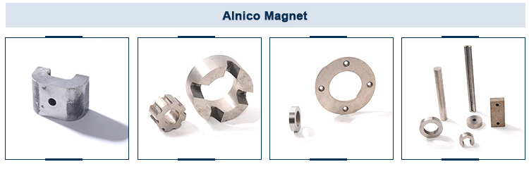 2018 customized bar alnico motor magnets with holes