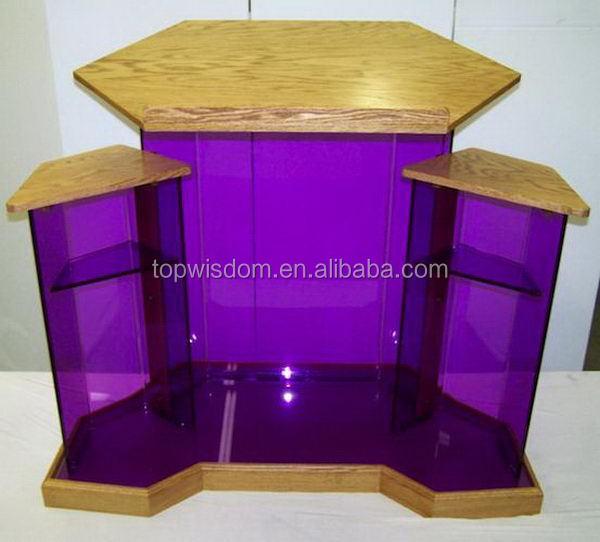 Alta calidad superventas del metal moderno atril podio otros muebles comerciales identificaci n - Muebles atril ...