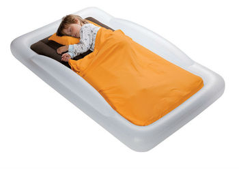 Smooth Material Of Kids Fleece Sleeping Bags For Inflatable Bed