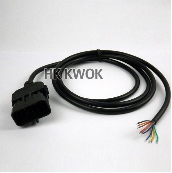 2014 оптовая продажа 10 шт. для Vauxhall / Opel OBDII / OBD 2 10 контакт. мужчин и открытие соединительный кабель диагностический инструмент с высокое качество