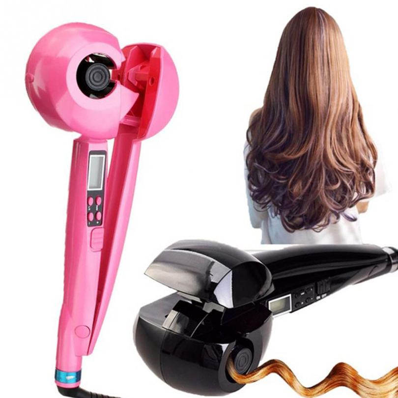 Magic Automatic Curling Iron Professional Hair Curler Roller Machine Ceramic