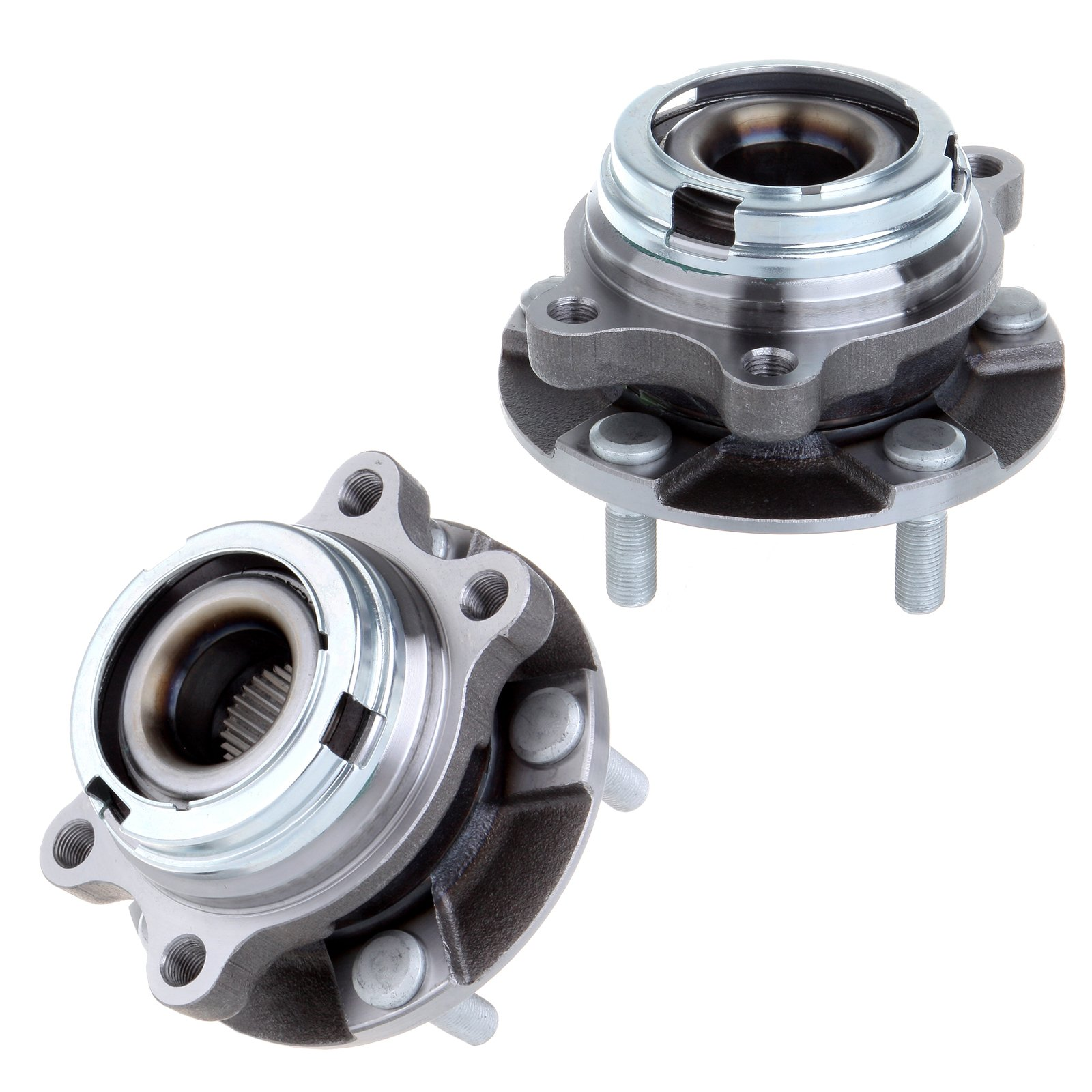 ECCPP Pair Of 2 New Premium FRONT Wheel Hub Bearing for a Nissan Murano Quest W/O ABS 513310 X 2