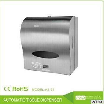 Decorative paper towel dispensers bathroom sensor paper dispenser touchless paper dispenser for Paper towel dispensers for bathrooms