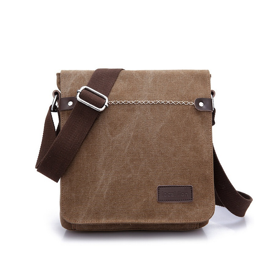 497f288e67b0 Get Quotations · Leisure fashion men canvas messenger bag shoulder bag men  travel bags All-match men sport