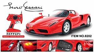 Licensed 1/10 Scale Ferrari Enzo Ready To Run Die Cast Radio Control Car