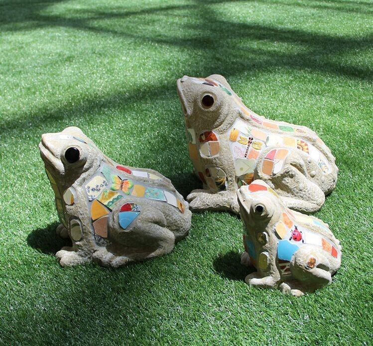Ceramic Mosaic Animals Garden Decoration,Frog Shape Outdoor Ornaments  (bf01 P1023)   Buy Garden Frog Outdoor Decor,Animals Garden Decoration,Frog  Garden ...