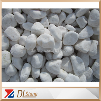 China Snow Cleaning White Pebbles Landscape Stone - Buy