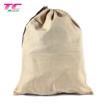Hot Sale Promotional Cotton Shoe Storage Bag Recycled Reusable Organic Cotton Dust Bag