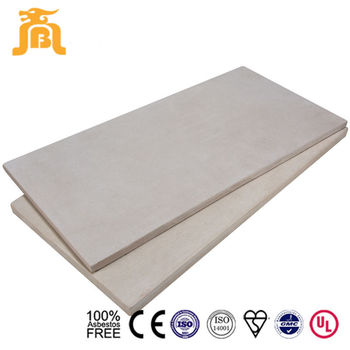 Prefabricated Home 20 mm Cheap Waterproof Fiber Cement Flooring Board Concrete Plank Materials