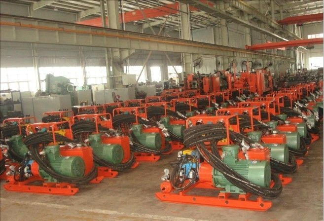 300M Core Drilling Rigs / Hydraulic Exploration Drilling Machine / Oil And Electric Power Drilling